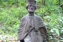 Harrachovští zahájili sbírku. Peníze půjdou na opravu sochy sv. Jana Nepomuckého
