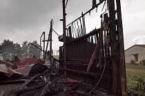 Požár čističky obilí způsobil škodu za 1,5 milionu korun