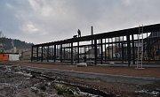 Nový dopravní terminál za 26 milionů korun bude již zanedlouho hotový. Jeho výstavbu pokryjí z devadesáti procent dotace z Evropské unie.