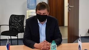 Ministr zahraničních věcí Tomáš Petříček v Rudníku na Trutnovsku