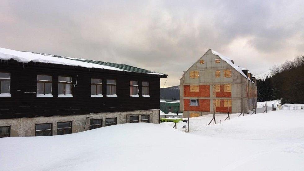 Stavební aréna Horní Mísečky: národnímu parku navzdory