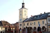 Jilemnice - náměstí