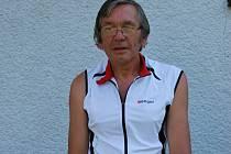 Miloslav Tohola, sportovní nadšenec v pokročilém věku.