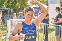 Triatlon v Dolcích u Trutnova zvládl nejrychleji Kryštof Pásler.