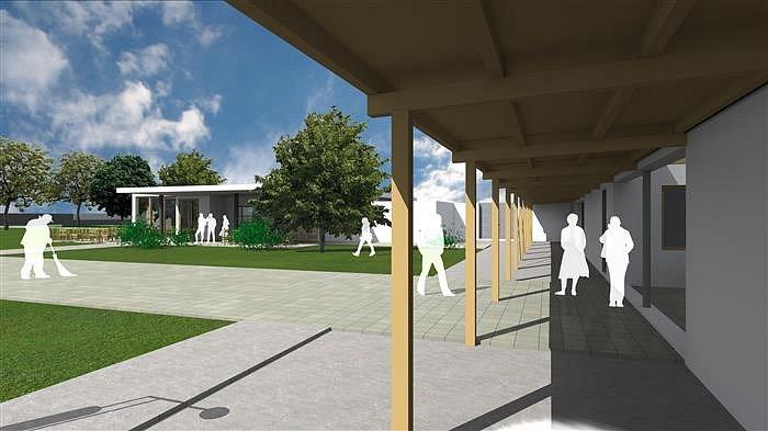 Obyvatelé Hostinného se dočkají nového koupaliště, rekonstrukce původního areálu začne letos.
