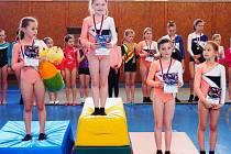 BLYŠTIVÉ KOVY udělaly trutnovskému gymnastickému Spartaku radost hned v jednadvaceti případech.