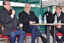 Prezident Zeman na návštěvě Vrchlabí