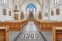 Novogotický kostel sv. Petra a Pavla v Trutnově Poříčí postavila v letech 1897 - 1903 firma trutnovského stavitele Vincenze Baiera.