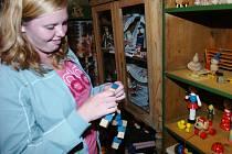 Na Dřevěnce jsou vystaveny staré hračky