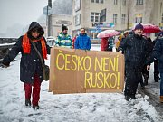 Úterní protest proti Babišovi a Ondráčkovi v Trutnově