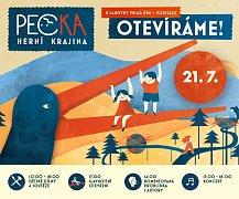 Herní krajinu Pecka ve Velké Úpě v nadmořské výšce 1062 metrů otevře slavnostní program v sobotu 21. července.