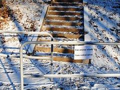Semily mají nové schody, ale chodit by se po nich nemělo