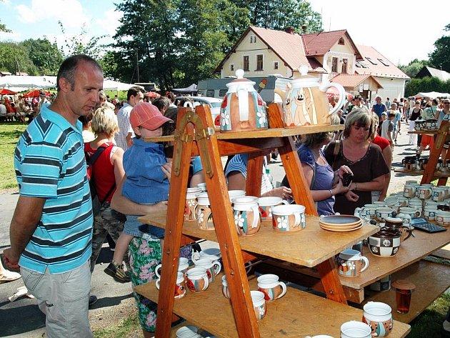 Trh lidových řemesel v Kohoutově