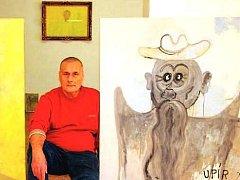 Galerie patří autoportrétům Václava Stratila
