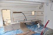 Dřevěnka prochází závěrečnými opravami