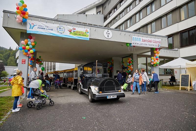 Státní léčebné lázně Janské Lázně si v pátek připomněly 40. výročí dětské léčebny Vesna.