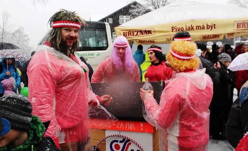 Krakonoše letos v Harrachově trápil déšť