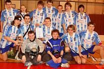 Vítězné družstvo okresního kola z Gymnázia Trutnov.