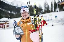 Jilemnický junior Vítězslav Hornig je zatím na mistrovství světa v Rakousku velmi úspěšný.