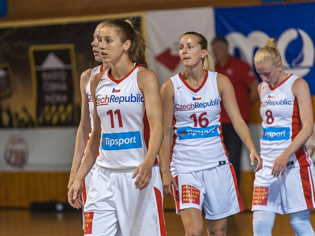 Příprava basketbalistek v Trutnově: Česko - Slovensko