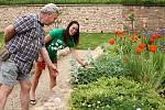 Klášterní zahrada se otevřela komentovaným prohlídkám