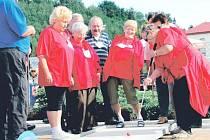 OLYMPIÁDA PRO STARŠÍ A POKROČILÉ nabídla účastníkům možnost zahrát si v havlovickém Všesportovním areálu například minigolf.