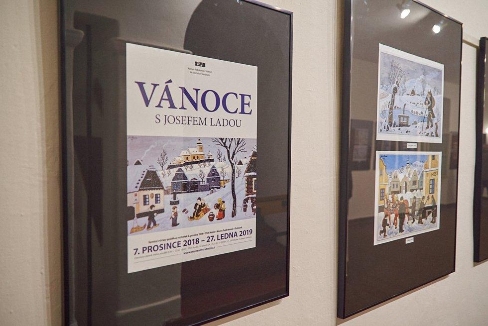 Ponocný a oblíbená ladovská zima v Muzeu Podkrkonoší.