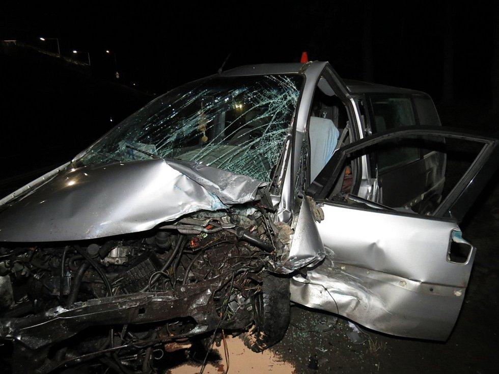 Smrtelná nehoda v Trutnově.