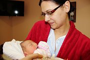 MONIKA BUŘILOVÁ se narodila 25. prosince ve 20.55 hodin Radce a Lukášovi. Vážila 3,46 kg a měřila 50 cm. Rodina je z Trutnova.
