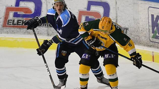 Vrchlabští hokejisté se Vsetínem odehráli v sezoně dva duely. Pokaždé byl úspěšnější hostující celek.