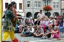 Festival pouličních divadel ve Vrchlabí