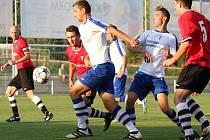 Vrchlabští fotbalisté se po třech kolech vyhřívají na druhém místě krajského přeboru.