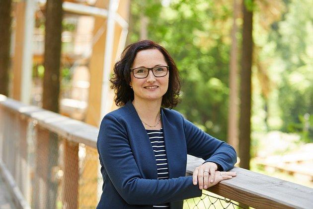 Marie Jarkovská, ředitelka Stezky korunami stromů Krkonoše v Janských Lázních.