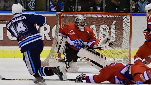 Vrchlabští hokejisté se dočkali první porážky z domácího ledu.