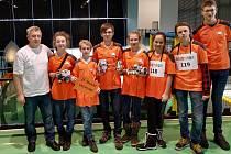 Robotiádu děti z Vrchlabí zvládly letos bravurně.
