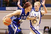1. čtvrtfinále ŽBL: Kara Trutnov - BK Czech coal Aldast Strakonice.