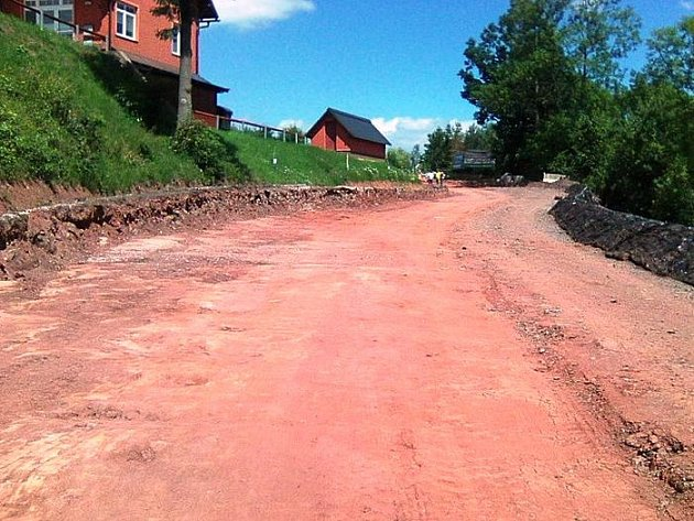 Rekonstrukce křižovatky na Horkách začala