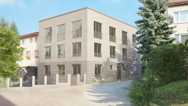 Na místě bývalé školní jídelny, kterou čeká demolice, plánuje Pilníkov postavit bytový dům pro osm bytových jednotek.