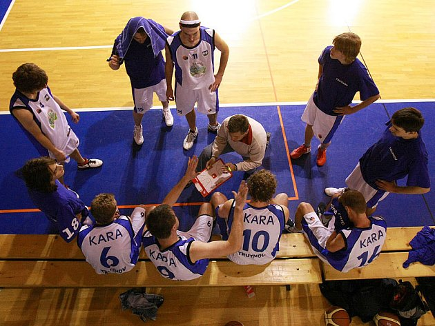 Basketbalisté Trutnova.