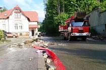 Povodně na Trutnovsku: Svoboda nad Úpou