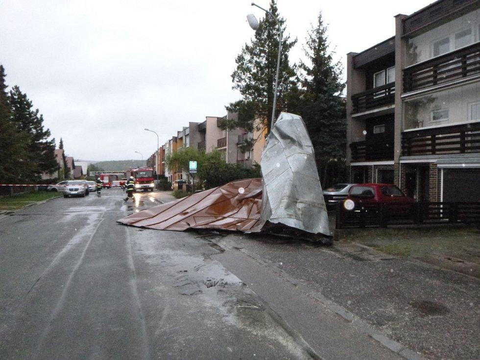 Silný vítr řádil hlavně na Trutnovsku.
