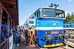 O nedělní Den železnice v Trutnově byl obrovský zájem.