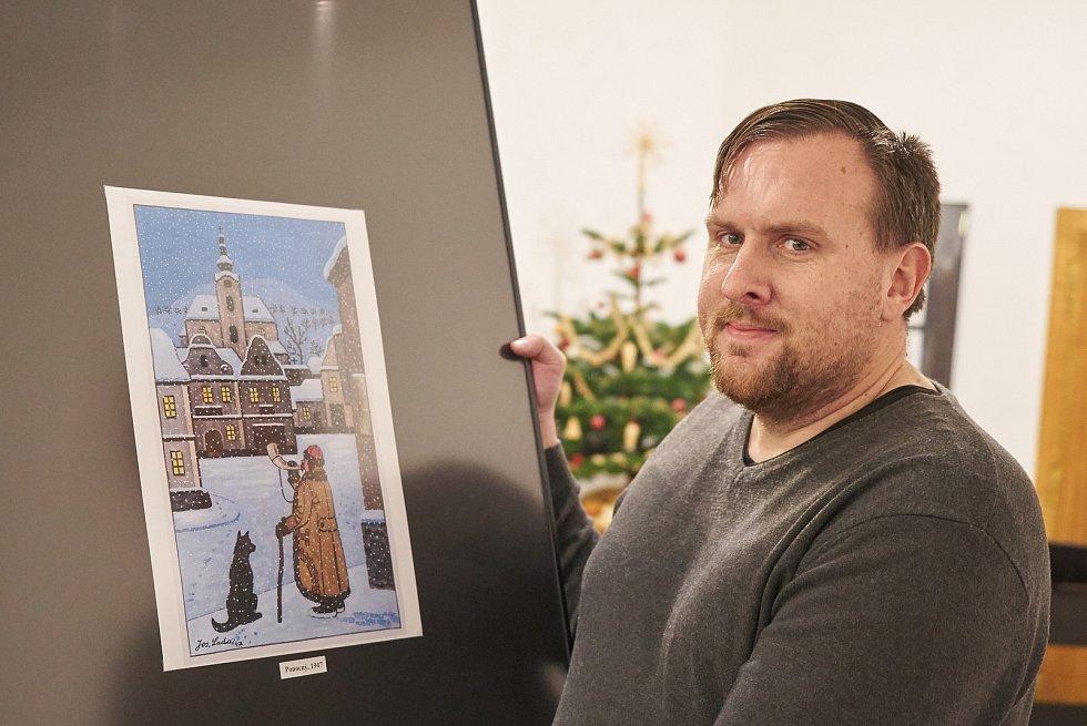 krkonošský deník ponocný a oblíbená ladovská zima v muzeu