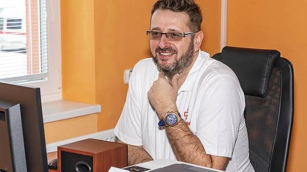 Ředitel Nemocnice Vrchlabí Michal Mrázek.
