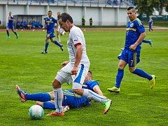 Fotbalový Region´s Cup: Česká republika - Bosna a Hercegovina.