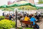 V Trutnově se v pondělí 17. května otevřely zahrádky restaurací a kaváren.