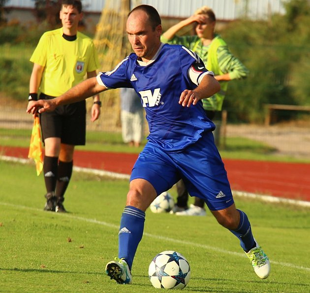 Dvorský fotbalista Martin Hruška.