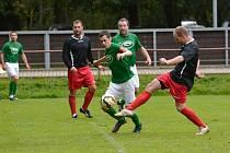 Hattricku dosáhl v gólově velmi atraktivní partii mezi Jabloncem nad Jizerou a Lučany domácí špílmachr Filip Hrbek.