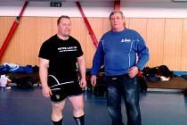 Petr Hron (vlevo)