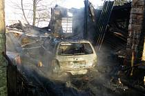 Požár v Hajnici